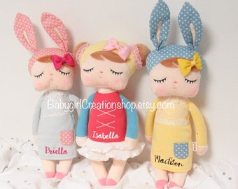 Girl Stuffed Plush Baby Toys Gift Doll, Baby girl plush doll, plush doll, baby girl doll