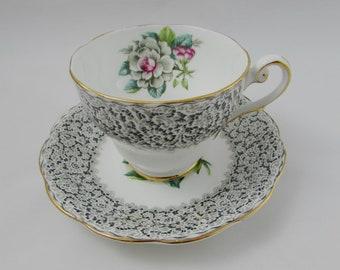 "Royal Standard ""Keepsake"" Tea Cup and Saucer, Vintage Bone China"
