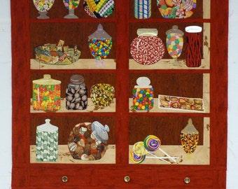Candy Cupboard pattern & fabric kit