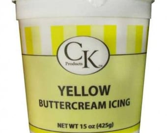 Yellow Buttercream Icing - CK Products - 15 oz