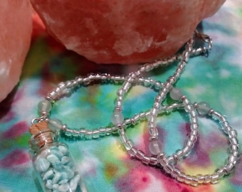 Mini jar pendant necklace