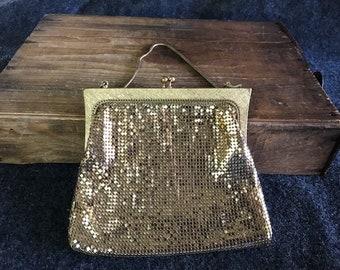 Gorgeous metal mesh West German purse