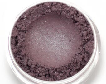 "Silver Blue Gray Eyeshadow - ""Secrecy"" - Vegan Mineral Makeup"