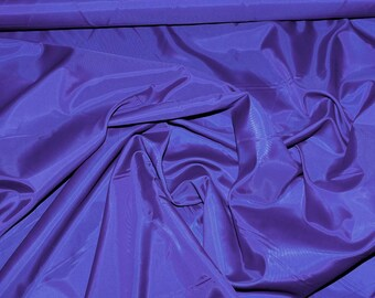 Poly Lining fabric 58 inches wide..Royal . . used for lining  jackets, skirts, dresses. vests, soft, light weight