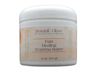 Fast Healing Eczema Butter 4 oz - All-Natural - Organic