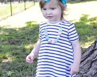 Toddler Dress, Girl Dress, spring dress, plum dress, purple stripped dress, summer dress, hi low dress, purple dress, spring outfit