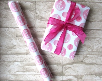 Wrapping paper anchor