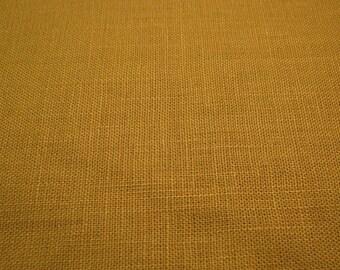 P Kaufmann Gold Linen Blend Fabric
