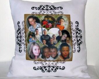 print custom pillow creation