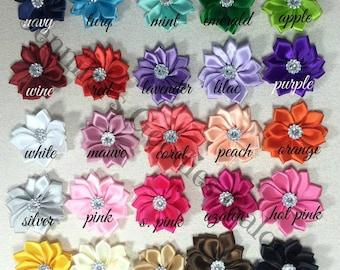 Ribbon flowers etsy mightylinksfo