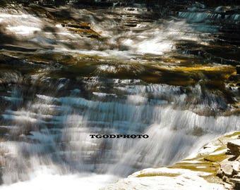 Chautaqua Gorge Waterfall