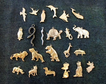 Build Your Own Charm Necklace - ANIMAL ZOO CHARMS