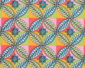 "Paula Prass - ""Tiled Garden"" in Spring - Michael Miller Fabrics"