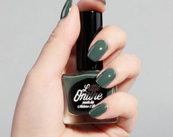 Little Ondine Water-Based Peel-off Natural Nail Polish 10.5ml ( L903-Chameleon )Glossy Green