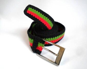 Pan-African belt, rebel reggae belt, rastafari accessories, rebel clothing