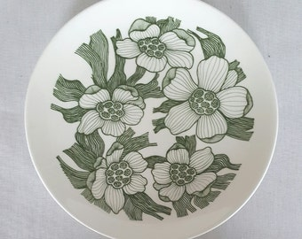 Stunning vintage Paulin plate by Paul Hoff for Gustavsberg made in Sweden