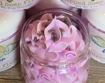 Lavender Whipped Soap Fluff