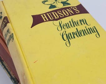 Vintage Gardening books - Garden Ideas and Projects - Southern Gardening - Encyclopedia of Gardening - New Illustrated - 1958 - Lot of books
