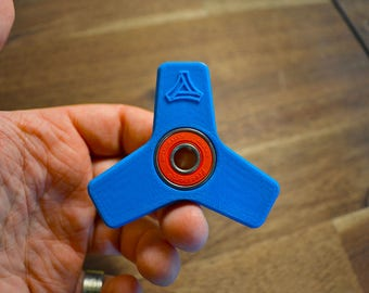 Tri Bar - 3D printed budget fidget spinner with Hybrid Ceramic bearings