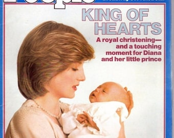BTS People Magazine August 16, 1982 King of Hearts