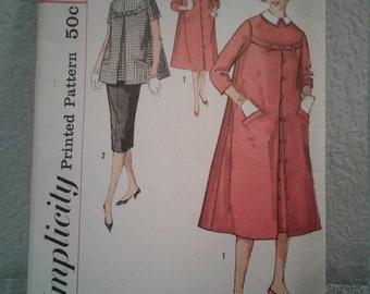 Vintage Simplicity Pattern - Size 14 - Bust 34 - 1958