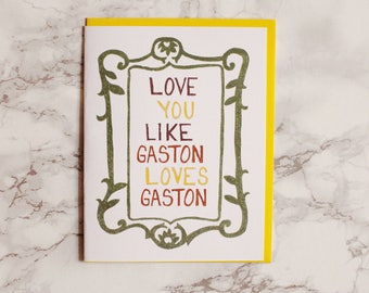 Funny Adult Anniversary Card. Valentine's Day Card. Book Lover. Library Card. Beauty and the Beast