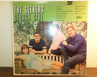 Vintage 1967 Vinyl LP Record Georgy Girl The Seekers Excellent Condition 10869
