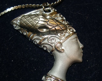 Anhänger - Silber Schmuck - Cleopatra Asp - Schwanengewand Einfluss FunkyAlternativeJewelry, SupportingArtists, OlympiaEtsy, WWWG, EnglisGeeks
