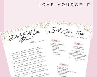 Self Love Planner - Workbook - Printable