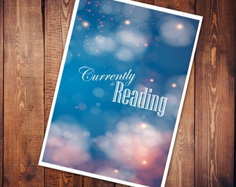 Art Print - #currently reading