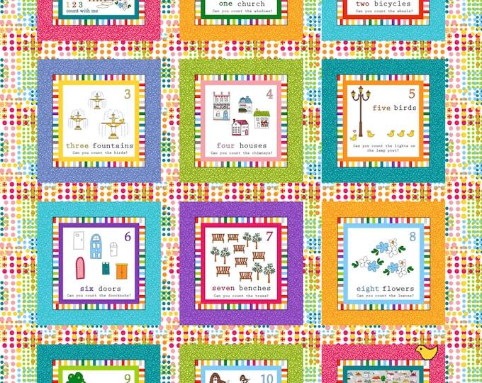 PDF Digial Download Count With Me Crib or Wall Hanging Pattern - Ellen Medlock Studio Design (#128X)