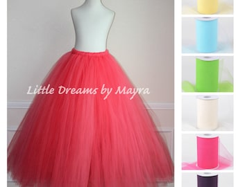 floor length adult tutu available in 35colors, teen tutu skirt, short adult tutu skirt, long maternity tutu, long bachelorette tutu skirt