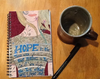 Song of Hope Journal, Writers Journal, Artists Journal