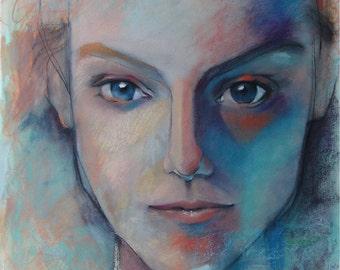 Unique and Modern Custom Portrait -Sample