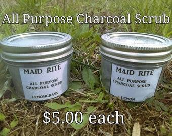 All Purpose Charcoal Scrub