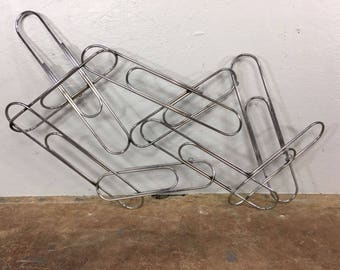 Curtis Jere Paperclip Metal Wall Art