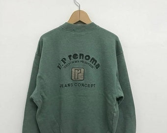 20% OFF Vintage U.P Renoma Sweatshirt,Up Renoma Sweater,Up Renoma Paris,U.P Renoma