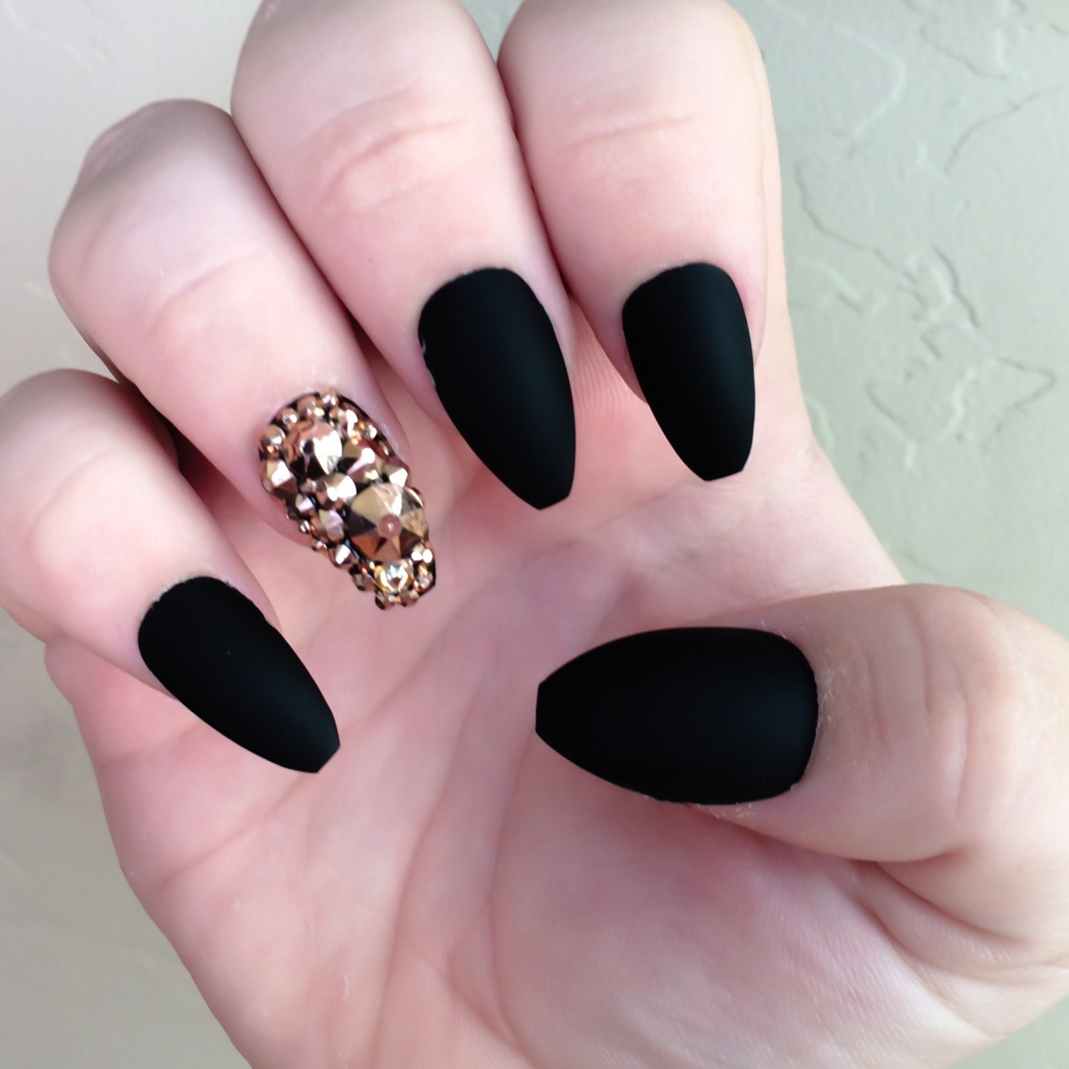 Coffin Shaped Nails, Coffin Nails, Ballerina Shaped Nails, Ballerina ...