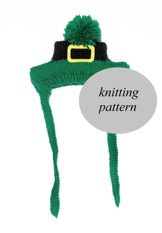 Leprechaun Hat Pattern Knit Dog Hat Pattern St Patricks Day