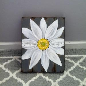 Superieur Daisy Painting Wall Art, Daisy Flower Home Decor, Daisy Canvas Wall Art,  Daisy