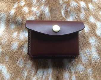 Altoids tin belt pouch in 3.5 mm leather