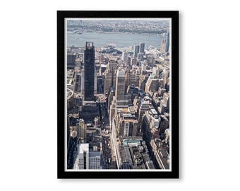 New York Poster, New York Prints, New York Skyline, Macys New York,