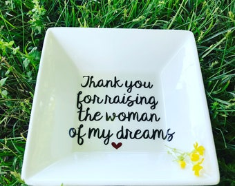 Mother of the bride gift from groom, mother of the bride jewelry dish, gift mom,mother of the bride gift ideas, Mother's Day gift, gift mom