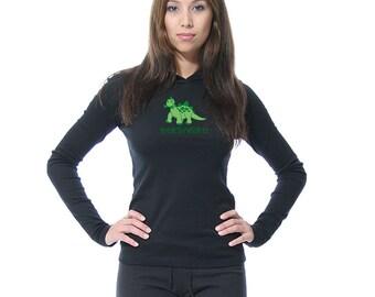 Herbivore Hoodie - American Apparel - S M XL
