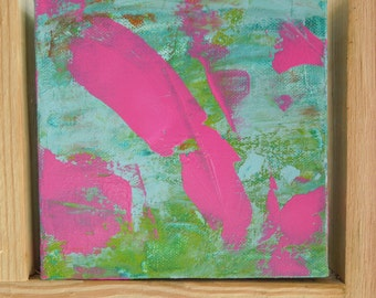 Abstract art, original painting is a Color Blast for your Decor