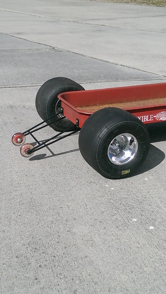 Items similar to Custom Radio Flyer Wagon Wheelie Bars complete with ...