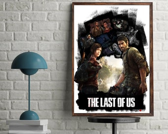 The Last of Us artwork video game poster