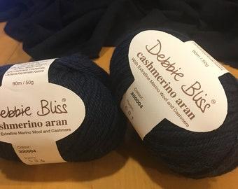 Debbie Bliss Cashmerinao Aran extrafine wool