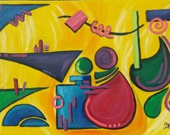 "Metamorphosis of Gauguin's ""Areara"""