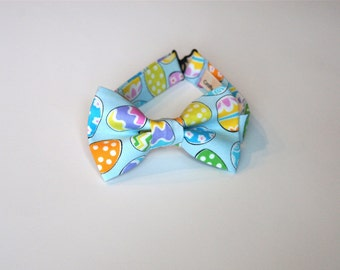 Bow Tie - Blue  Easter Eggs Theme